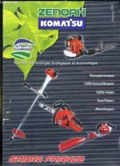 Catalogue 2005 Motoculture. Tronconneuses, Debroussailleuses, Taille Haies, Souffleurs, Atomiseurs. - Couverture - Format classique