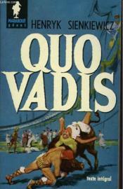 Quo Vadis - Couverture - Format classique