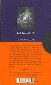 Les Galaxies - 4ème de couverture - Format classique