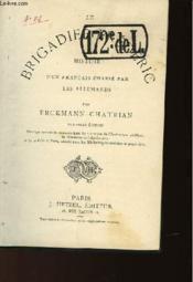 Le Brigadier De Frederic - Couverture - Format classique