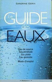 Le Guide Des Eaux - Intérieur - Format classique