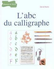 L'abc du calligraphe - Intérieur - Format classique