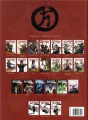 Samurai T.14 ; l'épaule du maître - 4ème de couverture - Format classique