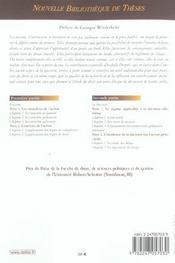 Les mesures d'instruction in futurum - 4ème de couverture - Format classique