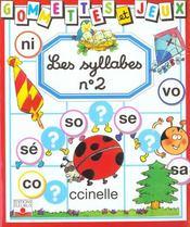 Syllabes t.2 - Intérieur - Format classique