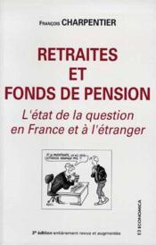 Retraites et fonds de pension - Couverture - Format classique