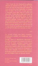Impressions et souvenirs - 4ème de couverture - Format classique