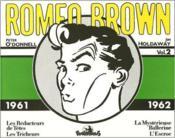Romeo Brown t.2 ; 1961-1962 - Couverture - Format classique