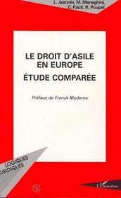 Le Droit D'Asile En Europe ; Etude Comparee - Intérieur - Format classique
