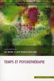 Temps et psychothérapie - Intérieur - Format classique