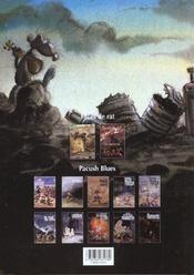 Pacush blues t.1 ; premières mesures - 4ème de couverture - Format classique