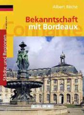 Connaitre bordeaux (all) - Couverture - Format classique