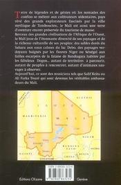Mali ; magie d'un fleuve aux confins du désert - 4ème de couverture - Format classique