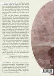 Le chemin de soi - 4ème de couverture - Format classique