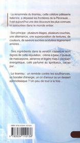 Tiramisu - 4ème de couverture - Format classique
