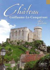 Château Guillaume-Le-Conquérant ; falaise - Couverture - Format classique