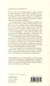 Berthe au Grand Pied, épouse et mère de rois - 4ème de couverture - Format classique