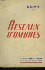 Reseaux D'Ombres. - Couverture - Format classique