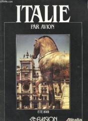 Catalogue - Italie Par Avion - Ete 1981 - Couverture - Format classique