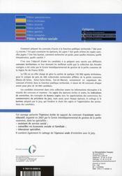 Assistant socio-éducatif (édition 2007) - 4ème de couverture - Format classique