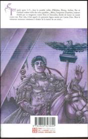 Bestiarius T.4 - 4ème de couverture - Format classique