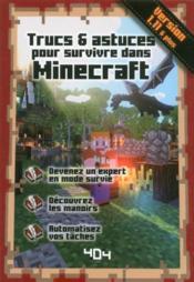 Trucs & astuces pour survivre dans Minecraft - Couverture - Format classique