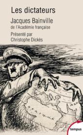 Les dictateurs - Couverture - Format classique