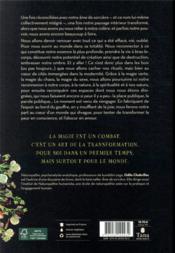 Sortir des bois ; manifeste d'une sorcière d'aujourd'hui - 4ème de couverture - Format classique