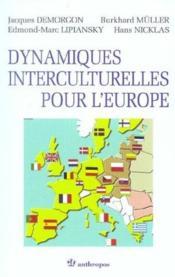 Dynamiques Interculturelles Pour L'Europe - Couverture - Format classique