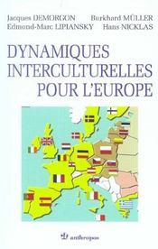 Dynamiques Interculturelles Pour L'Europe - Intérieur - Format classique
