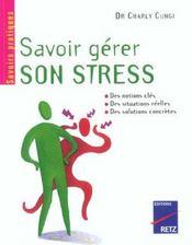 Savoir Gerer Son Stress - Intérieur - Format classique