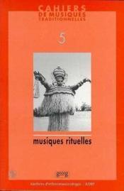 Cahiers De Musiques Traditionnelles V.5 199 - Couverture - Format classique