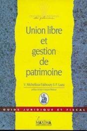 Union libre gestion patrimoine - Couverture - Format classique