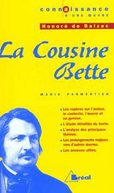 La cousine Bette, d'Honoré de Balzac - Intérieur - Format classique