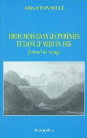 Trois mois dans les pyrenees - Couverture - Format classique