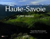 Haute-Savoie ; côté nature - Couverture - Format classique