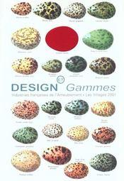 Design Et Gammes - Intérieur - Format classique
