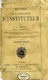 Lettres Sur La Profession D'Instituteur - Couverture - Format classique