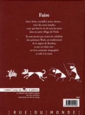 Faire - 4ème de couverture - Format classique