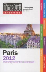 Paris: 2012 - Couverture - Format classique