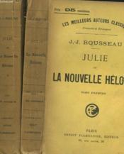 Julie Ou La Nouvelle Heloïse. En 2 Tomes. - Couverture - Format classique