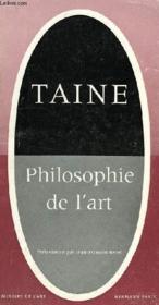 Philosophie De L'Art - Couverture - Format classique