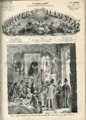 L'UNIVERS ILLUSTRE - VINGT-HUITIEME ANNEE N° 1569 Paris - Couverture - Format classique