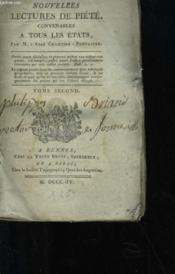 Nouvelles Lectures De Piete Convenables A Tous Les Etats - Tome 2 - Couverture - Format classique