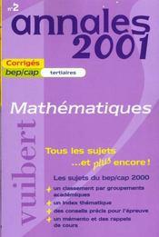 Annales Du Brevet - Intérieur - Format classique