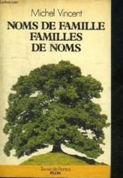 Noms De Famille - Couverture - Format classique