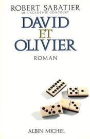 David Et Olivier - Couverture - Format classique