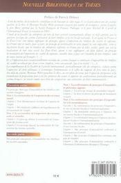 Territorialite et mondialite de l'impot (1re édition) - 4ème de couverture - Format classique