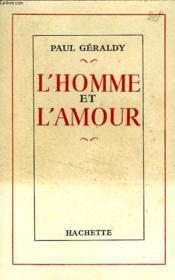 L'Homme Et L'Amour - Couverture - Format classique