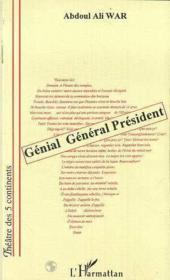 Génial général président - Couverture - Format classique